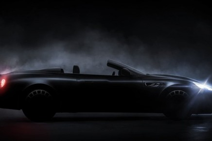 Kahn Design debuts a new convertible variant, the Aston Martin-inspired Vengeance Volante