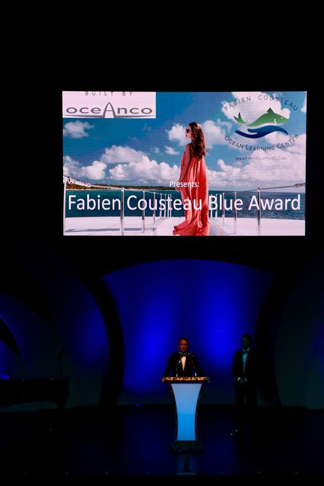 2017 International Superyacht Society Design & Leadership Award Winners-Fabien Cousteau Blue Award