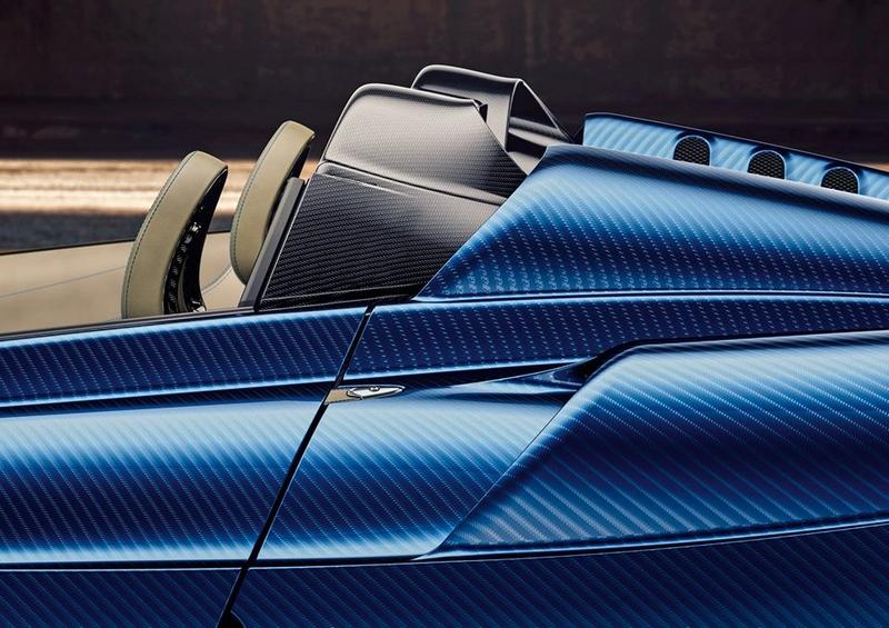 2017 Pagani Huayra Roadster details