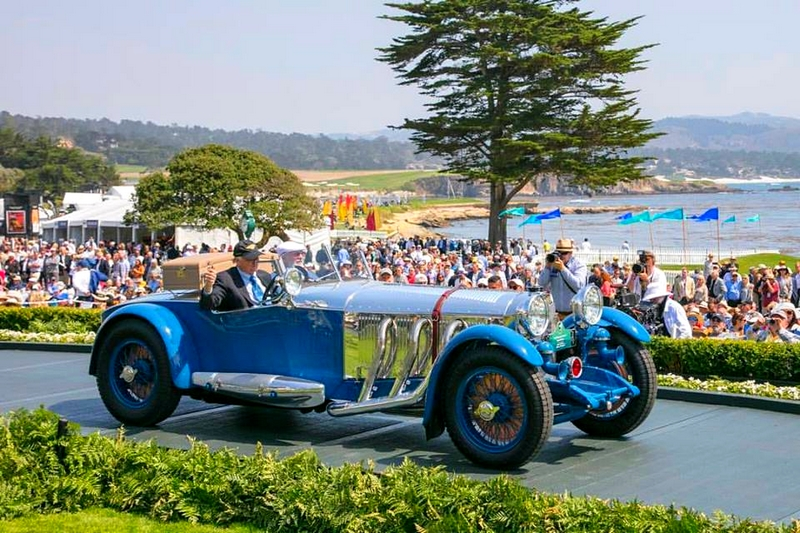 2017 PebbleBeachConcours Best of Show winner is the 1929 Mercedes-Benz S Barker Tourer owned by Bruce McCaw