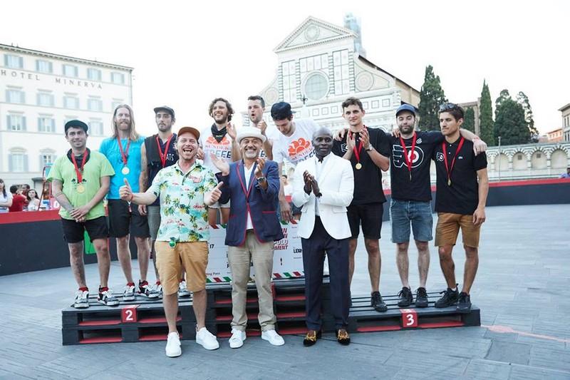 2017 Pitti Uomo- Christian Louboutin's Aurelien Bike Polo shoes hit the court
