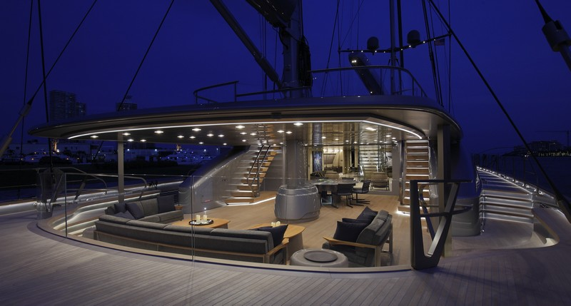 2017 Superyacht Design Awards - Sybaris Sailing Yacht - Interior