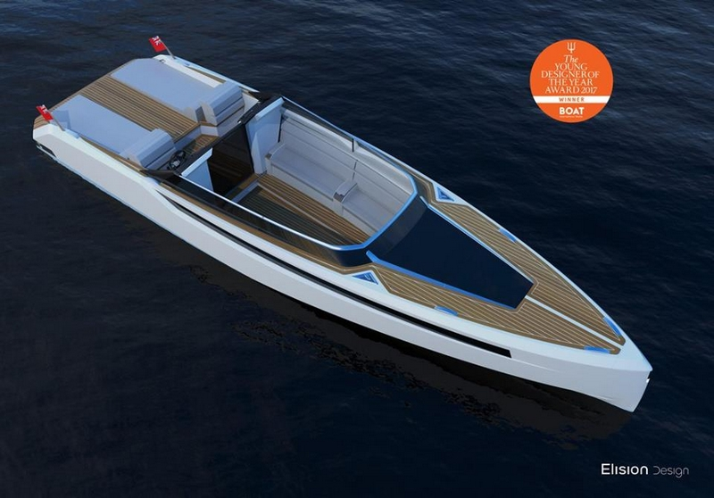 2017 Young Designer of the Year Eric Laurent's Hearsay yacht - luxury tender