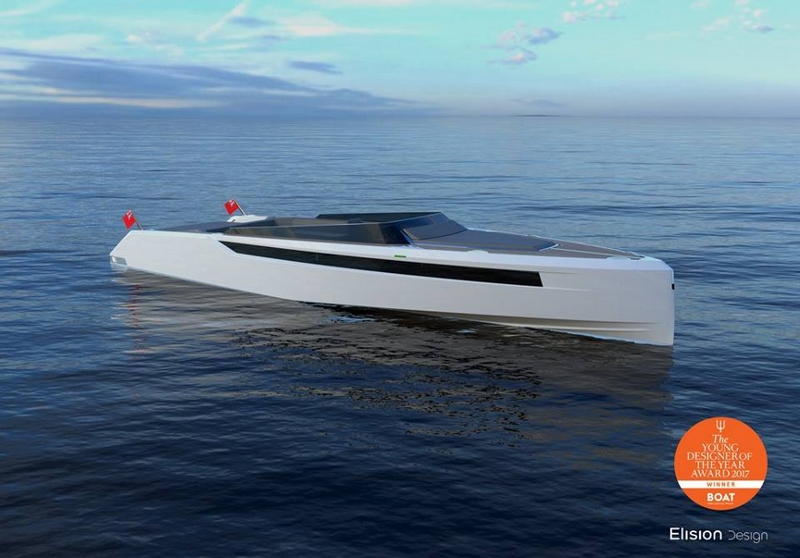 2017 Young Designer of the Year Eric Laurent's Hearsay yacht - luxury yacht tender-