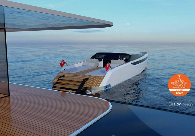 2017 Young Designer of the Year Eric Laurent's Hearsay yacht - luxury yacht tender--