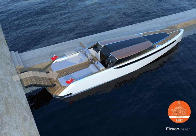 2017 Young Designer of the Year Eric Laurent's Hearsay yacht - luxury yacht tender