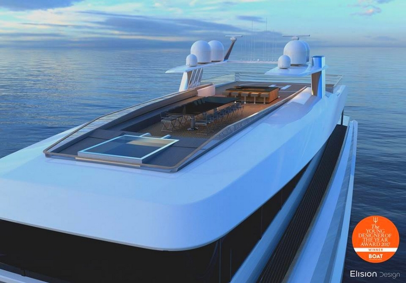 2017 Young Designer of the Year Eric Laurent's Hearsay yacht