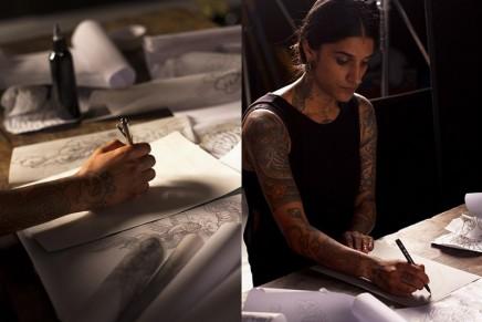 Tod's x Saira Hunjan, the tattoo artist of the celebrities