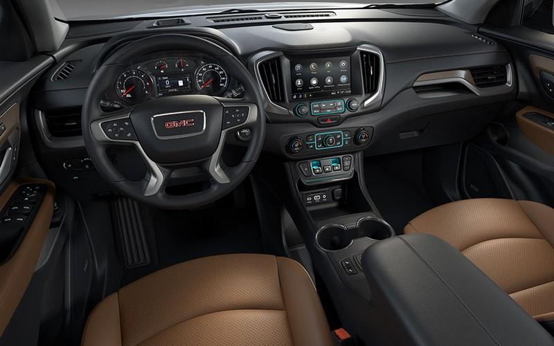 2018 GMC Terrain Compact SUV- interior