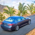 2018 Genesis G80 Sport Blue Exterior Rear
