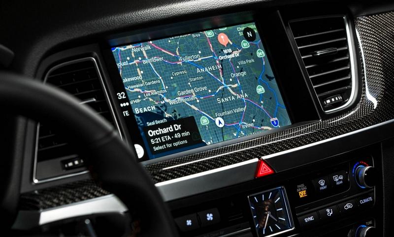 2018 Genesis G80 Sport Interior 2