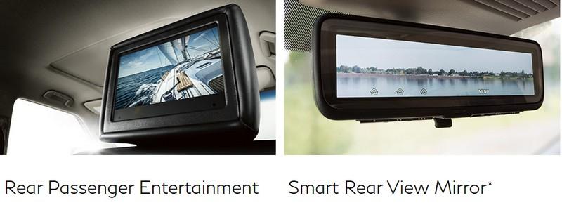 2018 Infiniti QX80 - Rear Passenger Entertainment