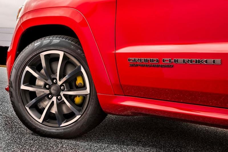 2018 Jeep Grand Cherokee Trackhawk wheels details