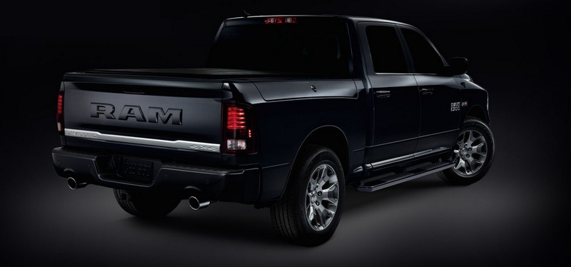 2018 Ram Limited Tungsten Edition luxury truck exterior