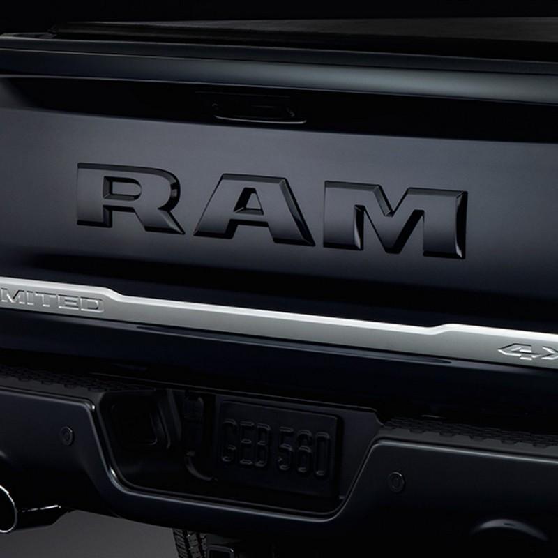 2018 Ram Limited Tungsten Edition luxury truck rear details
