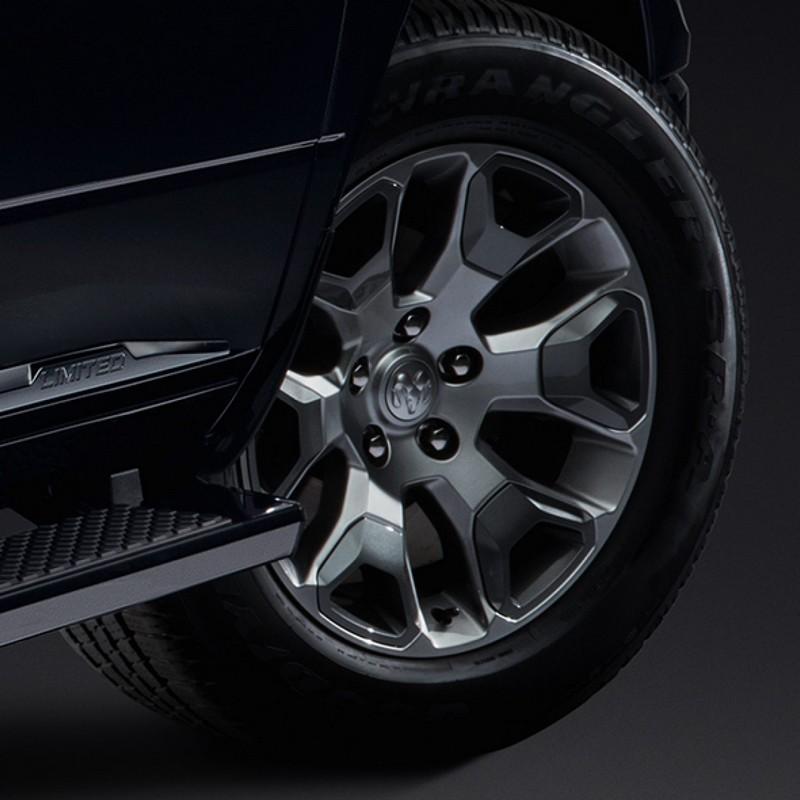 2018 Ram Limited Tungsten Edition luxury truck - wheels