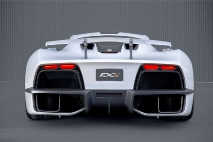 New American hypercar: Aria Group took the wraps off of their new FXE Hybrid supercar