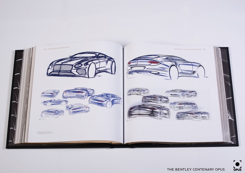 2019 Bentley Centenary Opus Book -Pages