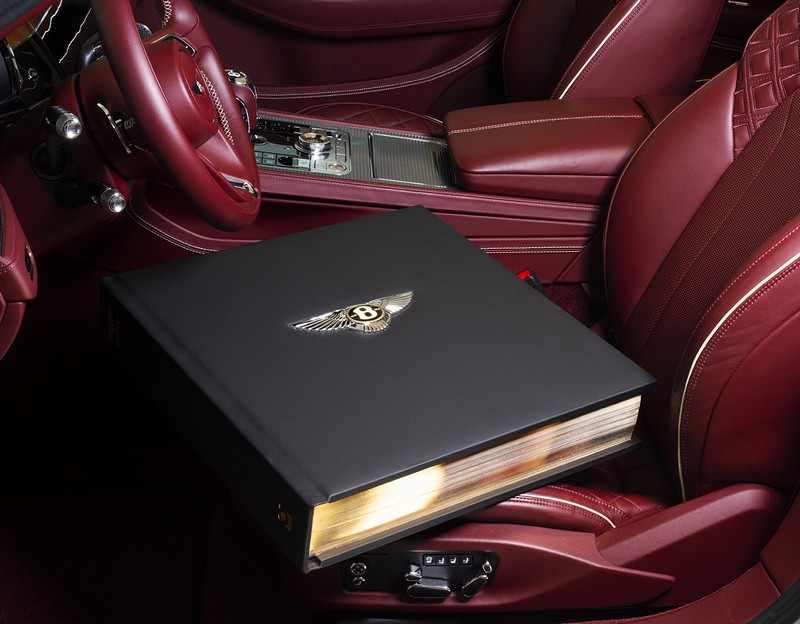 2019 Bentley Centenary Opus Book Red