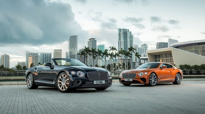 2019 Bentley NEW CONTINENTAL GT V8 AND GT V8 CONVERTIBLE