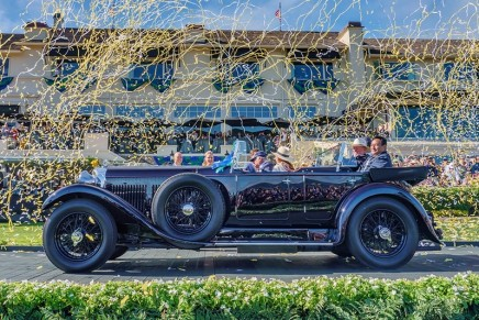 The car that represents Bentley at its finest won Best of Show at the 2019 Pebble Beach Concours d'Elegance