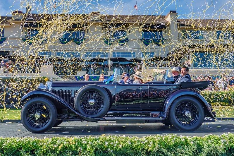 2019 Best of Show winner Pebble Beach - 1931 Bentley 8 Litre Gurney Nutting Sports Tourer