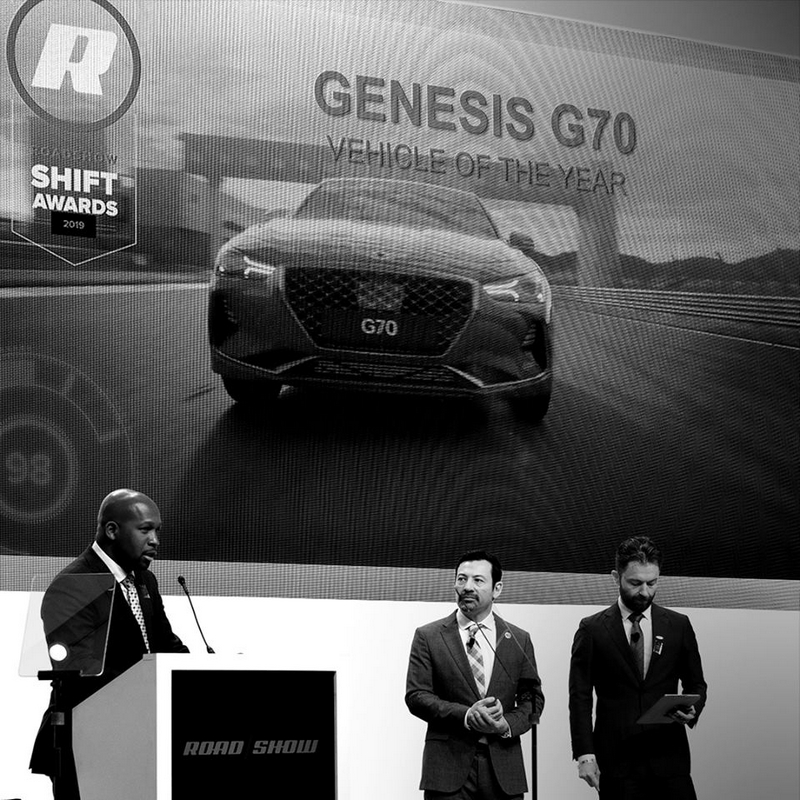 2019 Car of the Year Award goes to Genesis G70-