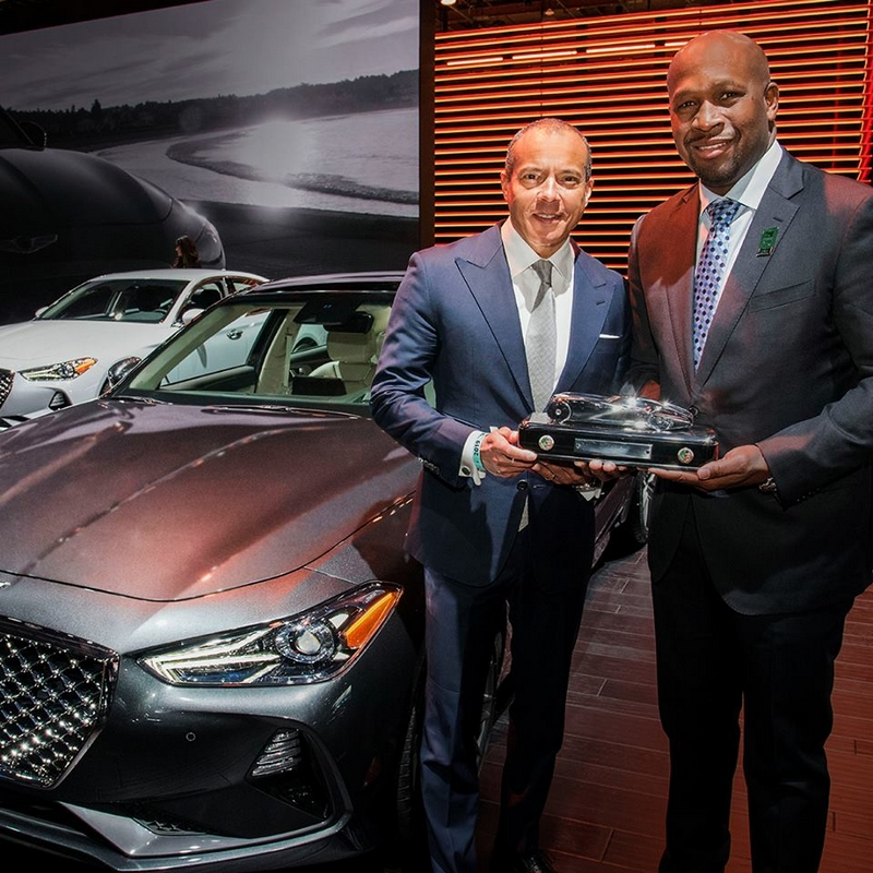 2019 Car of the Year Award goes to Genesis G70