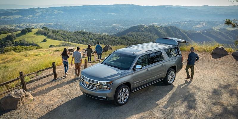 2019 Chevrolet Suburban family -