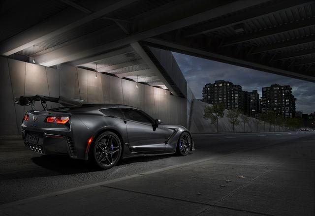 2019 Corvette ZR1 is the fastest production Corvette to date and the highest-performing Corvette ever