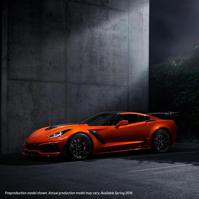 2019 Corvette ZR1 is the fastest production Corvette to date-presentation-