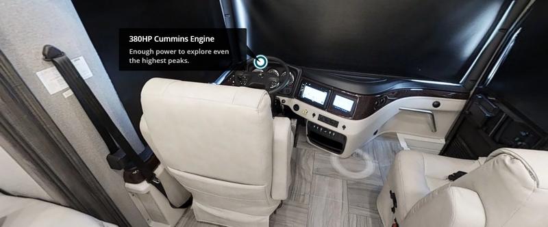 2019 Discovery LXE from Fleetwood RV defines Class A motorhome luxury-einen