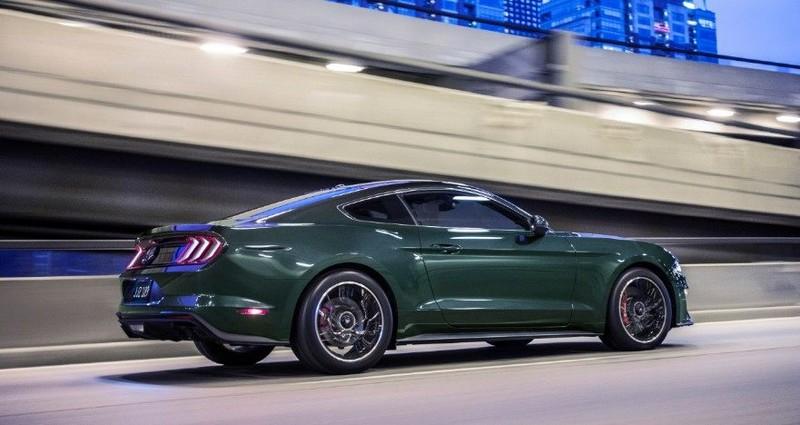 2019 Ford Mustang Bullitt car