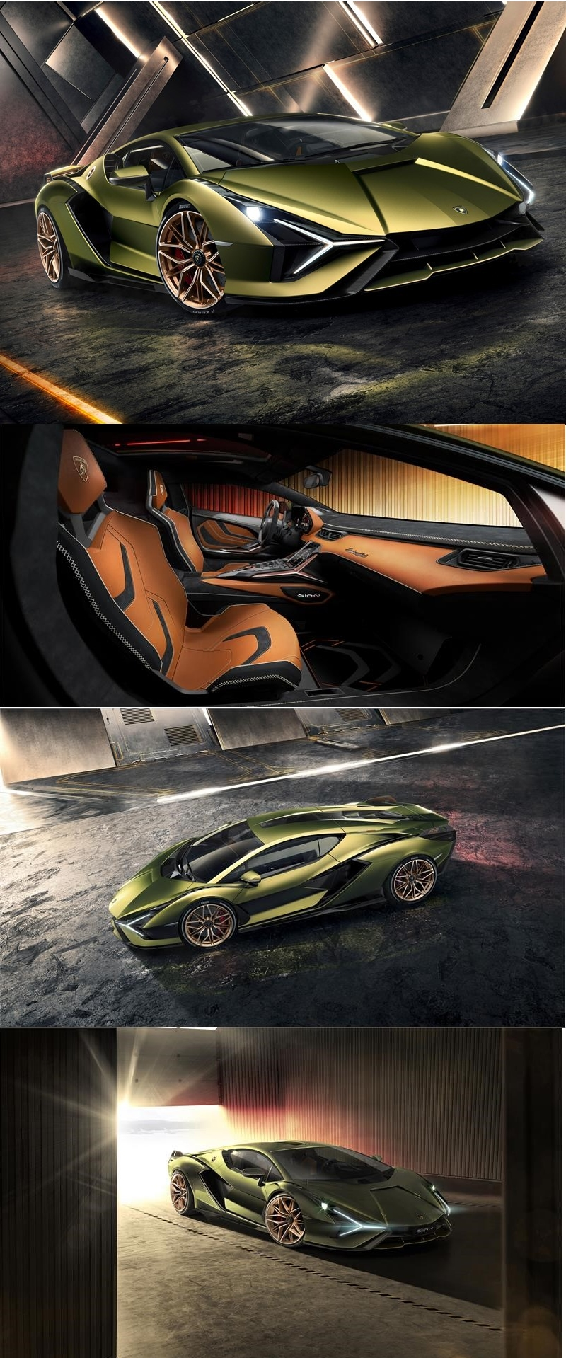 2019 Lamborghini Sián represents the first step in Lamborghini's route to electrification
