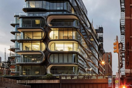 2019 AZ Awards: Zaha Hadid Architects' 520 West 28th awarded in the Residential Architecture category