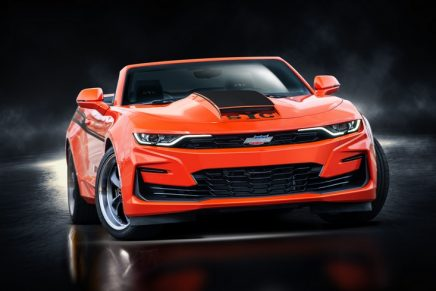 The all-new, outrageously fast, 2020 YENKO/ SC Stage I Camaro… and they'll all go very fast… literally