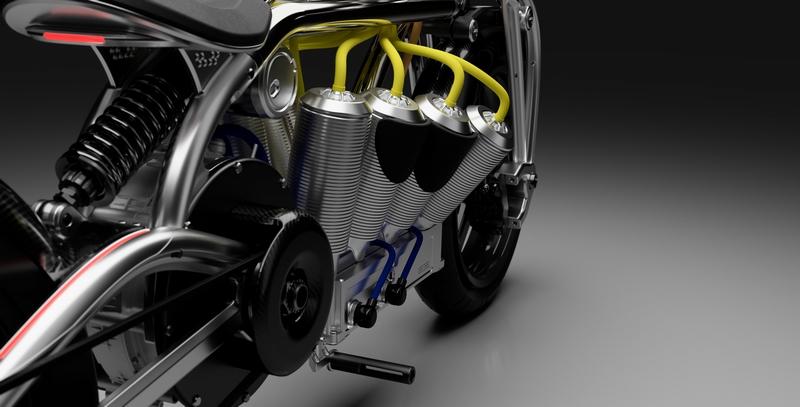 2020 Curtiss Zeus, Radial V8-details