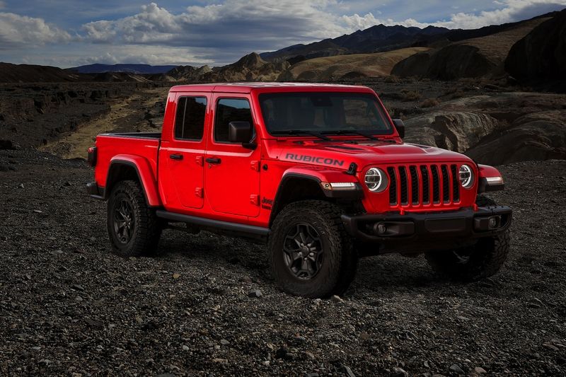 2020 Jeep Gladiator Launch Edition RED