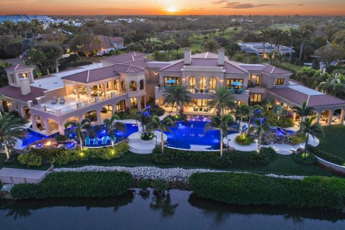 The estate owned by racing legend Johnny Gray is the most expensive home ever listed in Jupiter, Florida