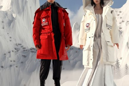 The Convertible Snow Mantra: Angel Chen reimagines iconic Canada Goose styles
