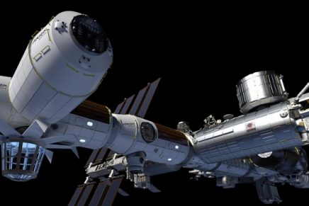 This new space hotel with décor by Philippe Starck opens a thriving network of commercial activity in Low Earth Orbit