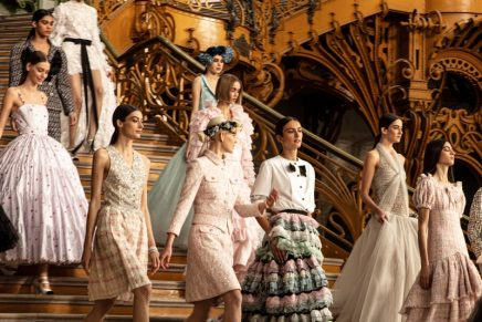 The wedding cortege: CHANEL Spring-Summer 2021 Haute Couture