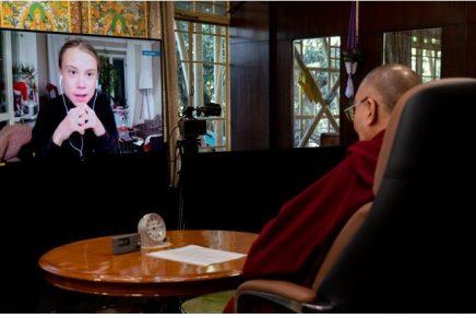 'Buddha would be green': Dalai Lama calls for urgent climate action