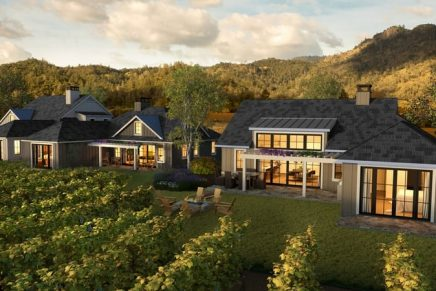 A glimpse of Napa Valley's first and only resort set within a working winery