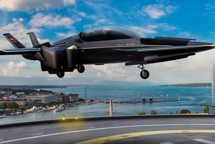Half a tennis court is perfectly sufficient for this new hybrid-electric VTOL/ STOL aircraft to land