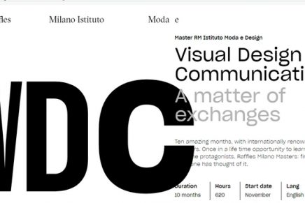 Raffles Milano is awarding 30 scholarships for 2021 Master Courses in Fashion Design, Communication, and Photography