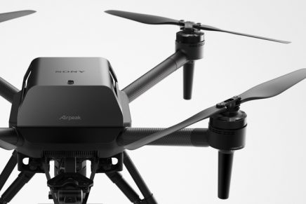 Sony ventures into the drone market with Airpeak Drone Project