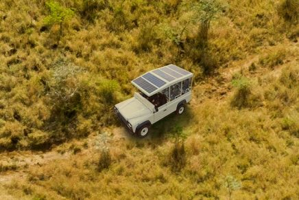 Sunreef Yachts shipyard builds an electric off-roader to help conservation efforts in Africa