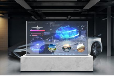 The contactless era: Transparent OLED for an upgraded lifestyle of the future