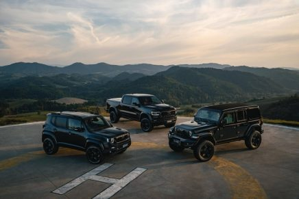 No ordinary SUVs: A model range designed for urban landscapes despite their off-road specs